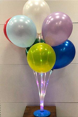 Suporte para balão 40cm com base colorida
