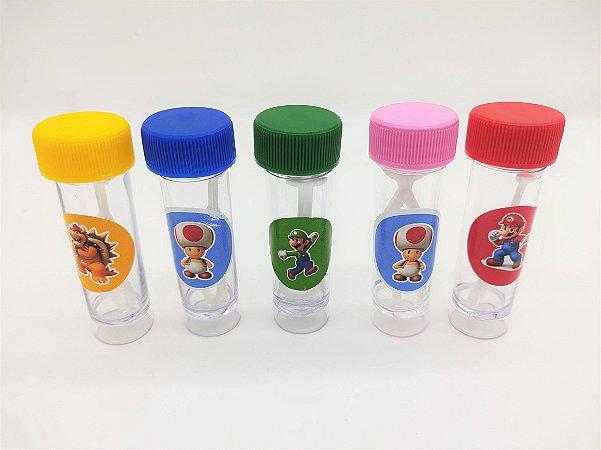 Bolha de Sabão Super Mario com 06 unidades