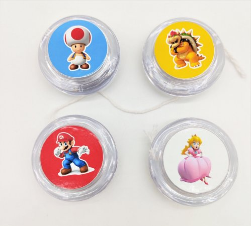 Ioiô Super Mario com 06 unidades