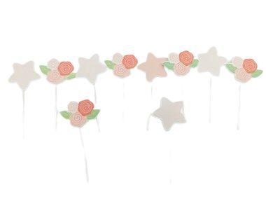 Pick decorativo Bailarina com 10 unidades