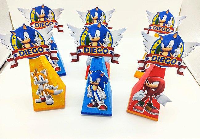 Caixa Pirâmide Sonic com 06 unidades