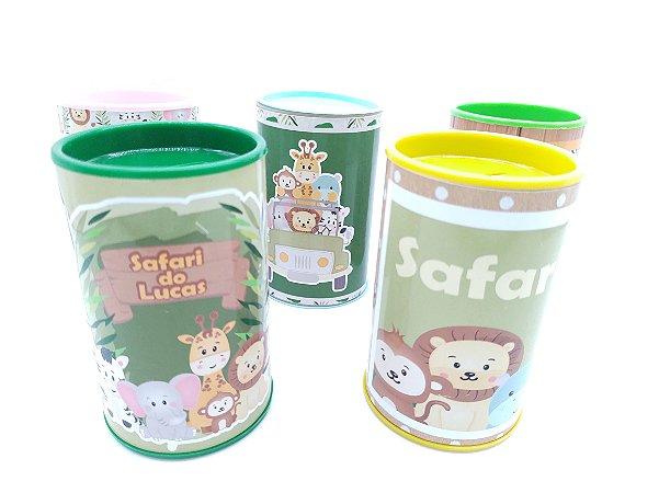 Cofrinho Safari com 05 unidades