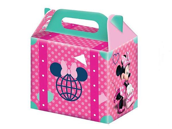 Caixa Surpresa Minnie Rosa com 08 unidades