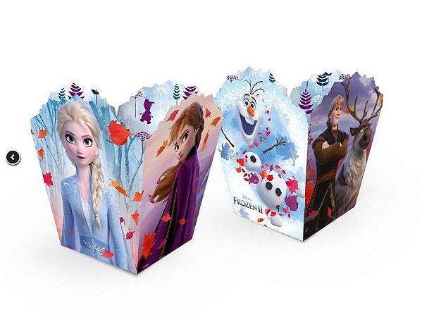Cachepot Pequeno Frozen II com 8 unidades