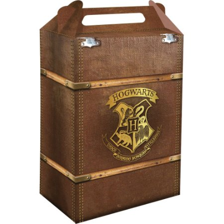 Caixa Surpresa Maleta Harry Potter com 08 unidades