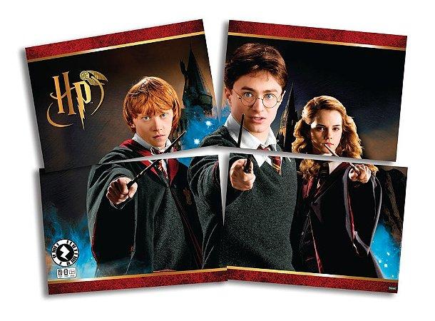 Painel 4 lâminas Harry Potter 1,28cm x 90cm