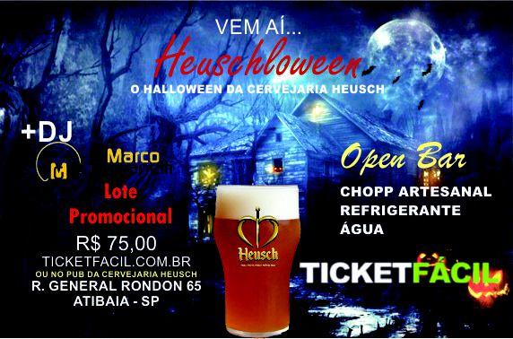 Evento Halloween da Cervejaria Heusch