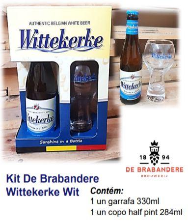 Kit Cerveja Belga Wittekerke from Brabandere