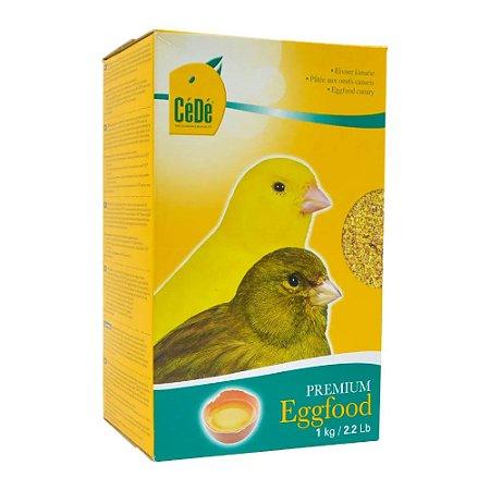Cédé - Eggfood Canaries (Canários) - 1kg