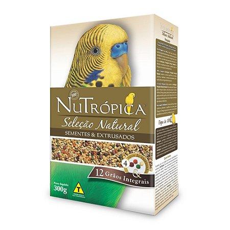 Nutrópica - Seleção Natural Periquito - 300g (VALIDADE: 06/08/2021)