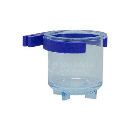 Porta vitamina Médio Azul