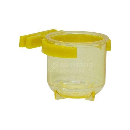 Porta vitamina Coleiro P Amarelo