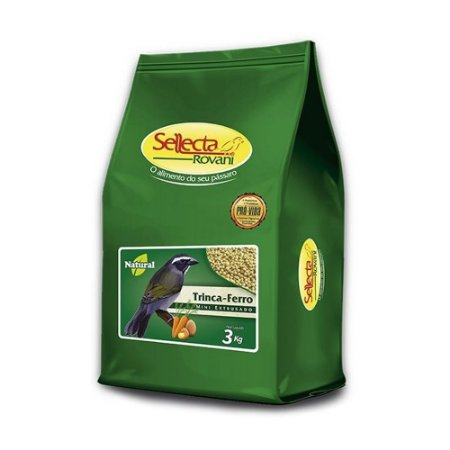 Sellecta - Trinca-Ferro Natural - 3kg (VALIDADE - 18/12/2021)