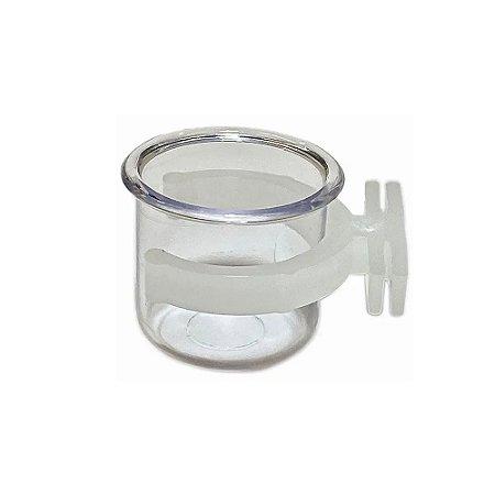 Porta vitamina Cristal com presilha Médio