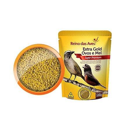 Reino das Aves - Extra Gold Ovos e Mel - 500g