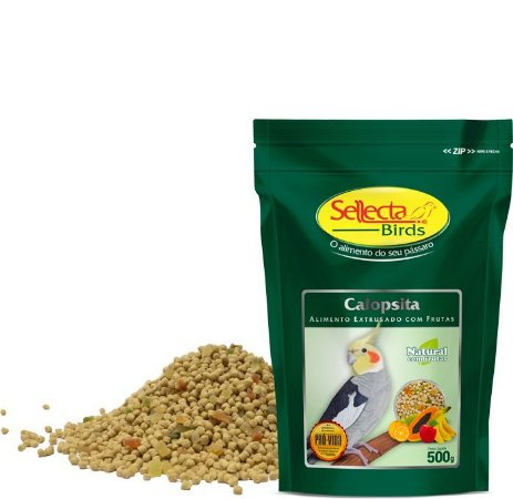 Sellecta - Calopsita Natural com Frutas - 500g