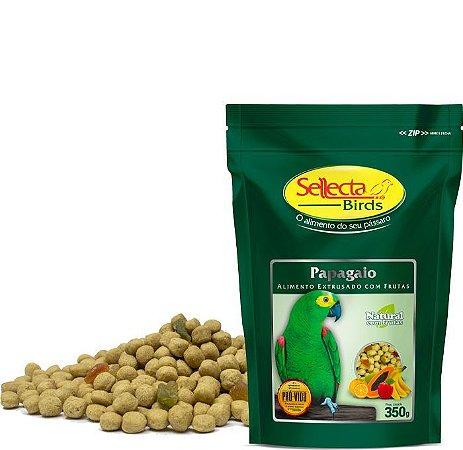 Sellecta - Papagaio Natural com Frutas - 350g