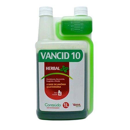 Vancid 10% - Herbal - 1 Litro