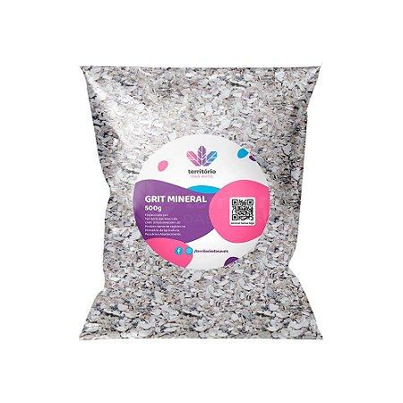 Grit Mineral Pássaros Pequeno Porte - 500g