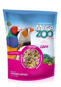 Megazoo - Mix Exóticos - 350g