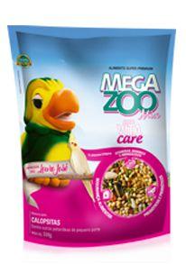 Megazoo - Mix Calopsitas - Louro José - 500g