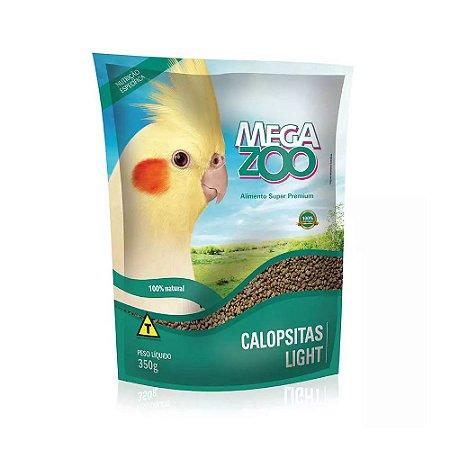 Megazoo - Extrusada Calopsita e Periquito Light - 350g