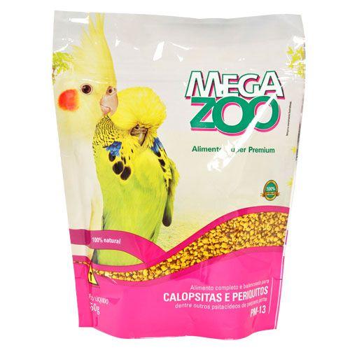 Megazoo - Extrusada Calopsita e Periquito (PM13) - 900g