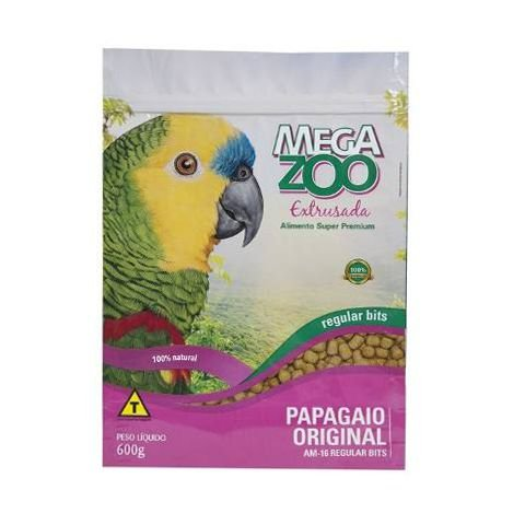 Megazoo - Extrusada Papagaios Regular (AM16) - 600g