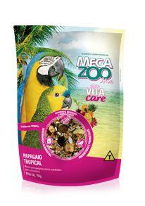 Megazoo - Mix Papagaio Tropical - 700g