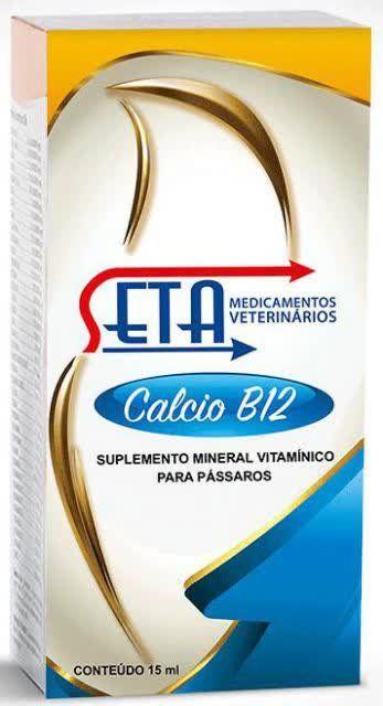 Seta - Cálcio B12 - 15mL
