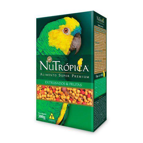 Nutrópica - Papagaios com Frutas - 300g