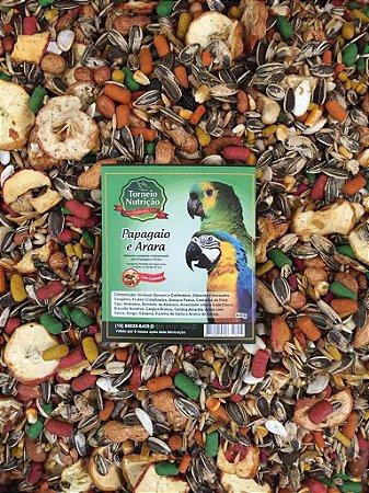Torneio Nutrição - Papagaio e Arara com Castanha  - 500g
