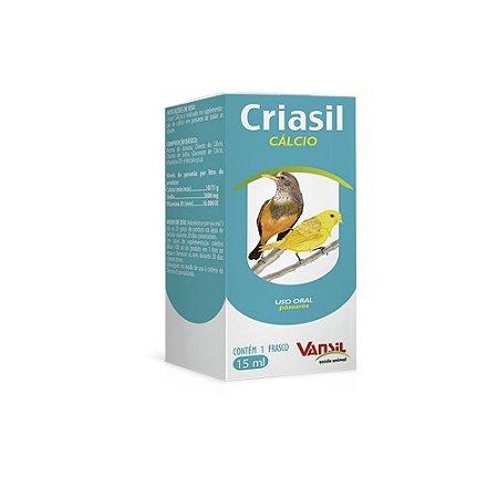 Criasil Cálcio - 15mL