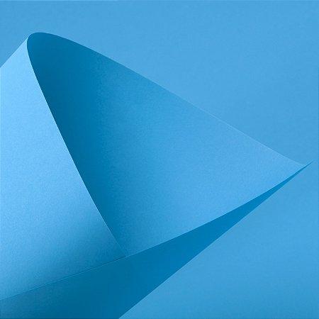 Papel Color Fluo Blue