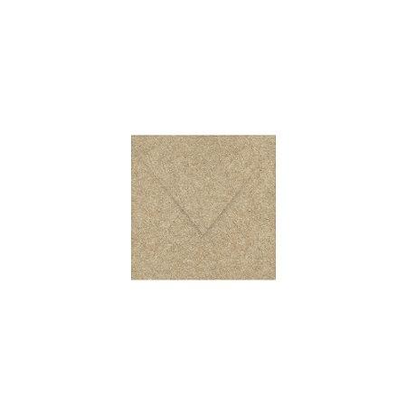 Envelope para convite   Quadrado Aba Bico Kraft 15,0x15,0