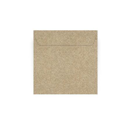 Envelope para convite   Quadrado Aba Reta Kraft 24,0x24,0