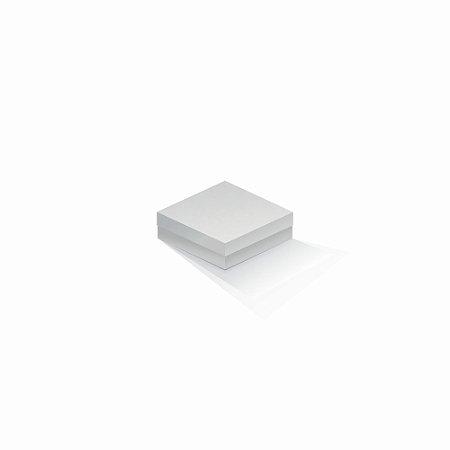 Caixa de presente | Quadrada Color Plus Alaska 10,5x10,5x4,0