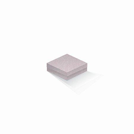 Caixa de presente | Quadrada Color Plus Metálico Ibiza 10,5x10,5x4,0