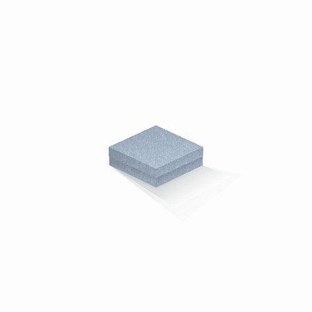 Caixa de presente | Quadrada Color Plus Metálico Mar Del Plata 10,5x10,5x4,0