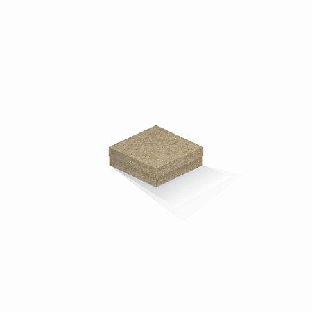 Caixa de presente | Quadrada Kraft 10,5x10,5x4,0