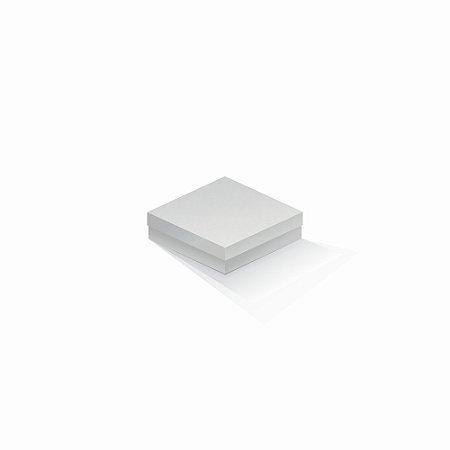 Caixa de presente | Quadrada Color Plus Alaska 12,0x12,0x4,0