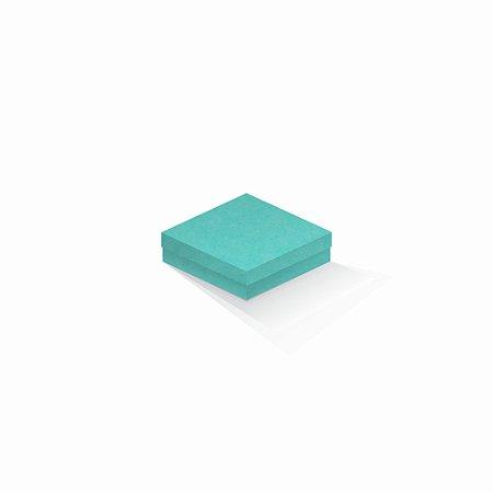 Caixa de presente | Quadrada Color Plus Aruba 12,0x12,0x4,0