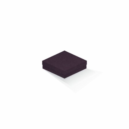 Caixa de presente | Quadrada Color Plus Mendoza 12,0x12,0x4,0