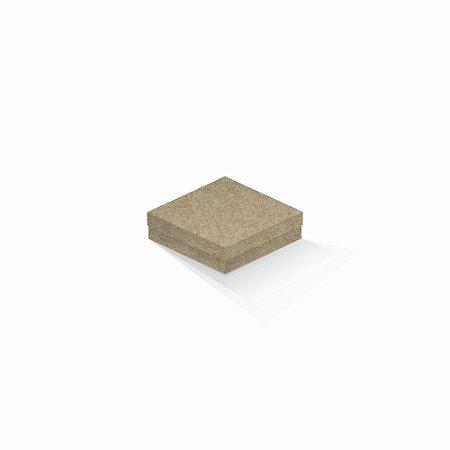 Caixa de presente | Quadrada Kraft 12,0x12,0x4,0