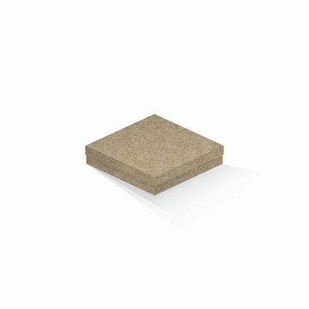 Caixa de presente   Quadrada Kraft 15,5x15,5x4,0