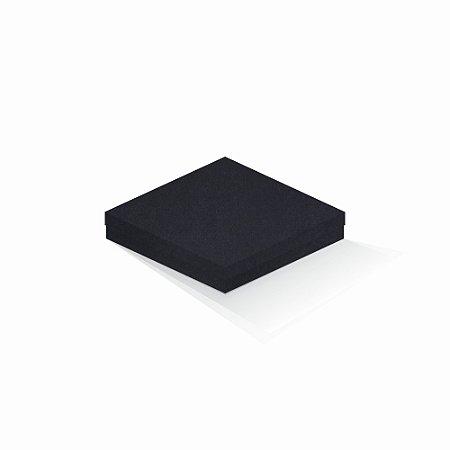 Caixa de presente | Quadrada F Card Scuro Preto 18,5x18,5x4,0
