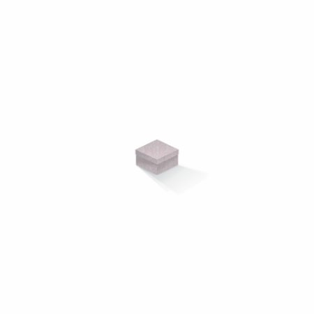 Caixa de presente   Quadrada Color Plus Metálico Ibiza 5,0x5,0x3,5