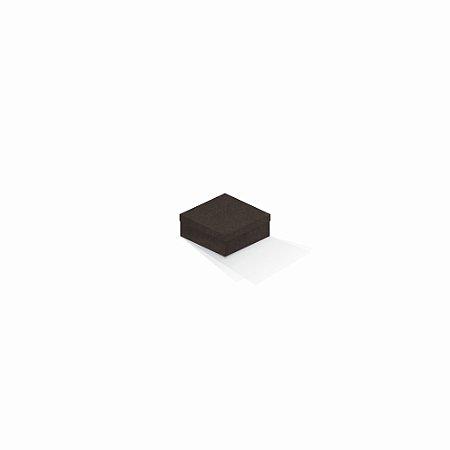 Caixa de presente   Quadrada Color Plus Marrocos 7,0x7,0x3,5