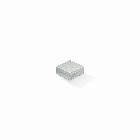 Caixa de presente | Quadrada Color Plus Metálico Aspen 7,0x7,0x3,5