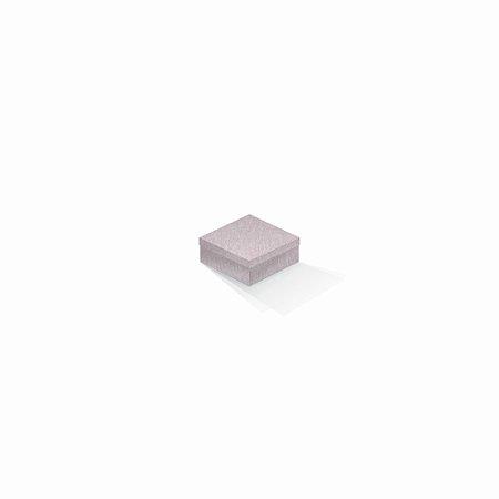 Caixa de presente | Quadrada Color Plus Metálico Ibiza 7,0x7,0x3,5